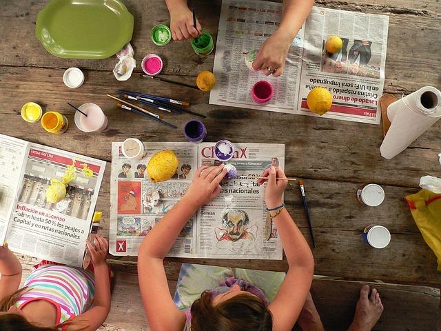 malování kuliček
