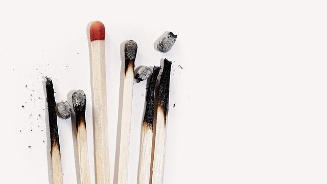 Vyhořelé zápalky